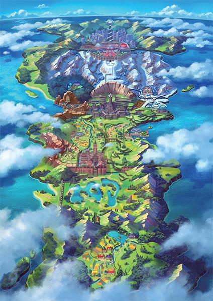 The Galar Region