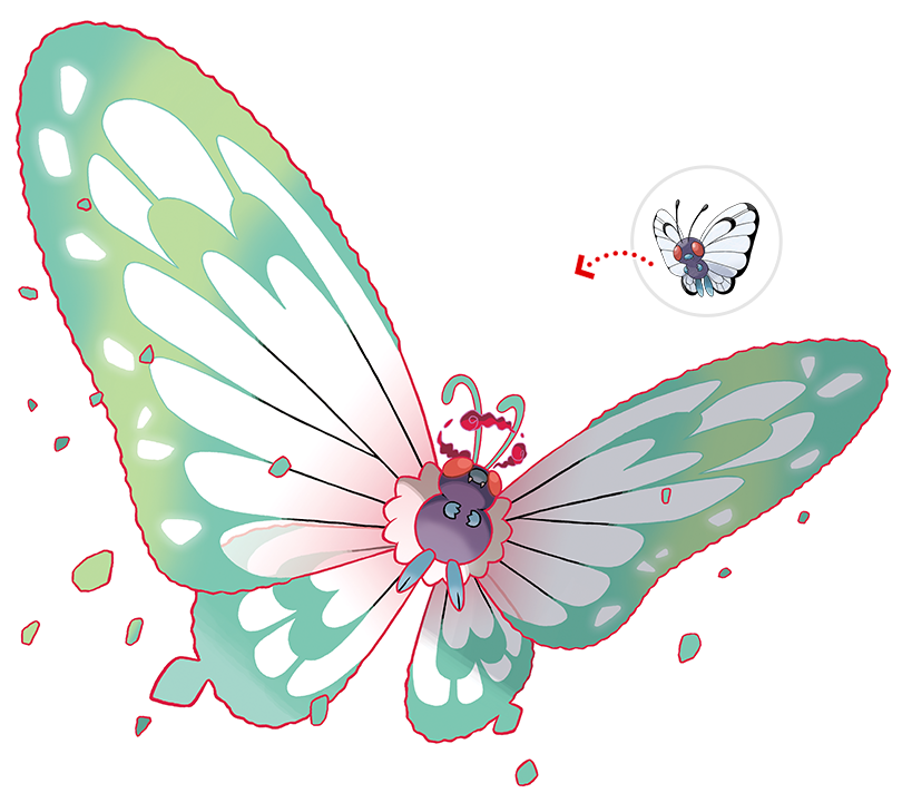 Gigtantamax Butterfree