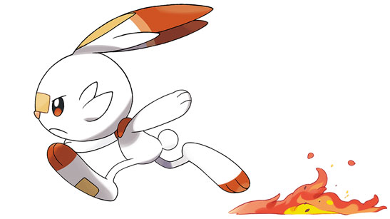 Scorbunny | Pokémon Sword e Pokémon Shield