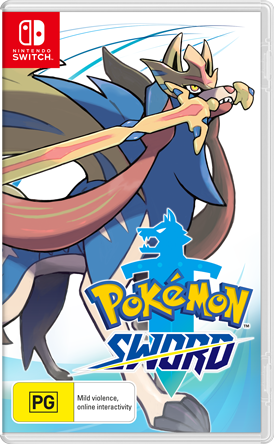 Pokemon Sword Packshot