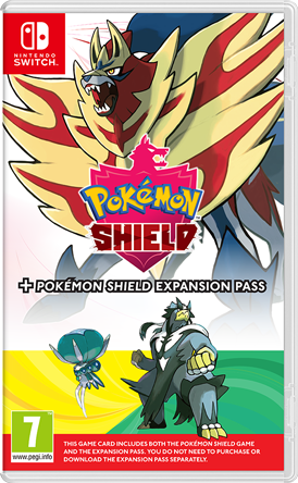 Pokemon Shield Packshot
