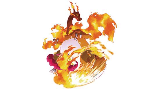 Dracaufeu Gigamax Pokemon Epee Et Pokemon Bouclier